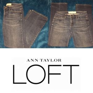 LOFT women's ORIGINAL BOOT Jeans SZ: 4